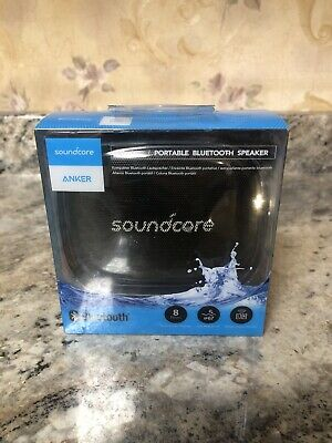 AU28.93 • Buy New Anker Soundcore Icon Mini Portable Waterproof Bluetooth Speaker Black