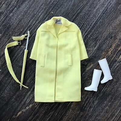 $ CDN33.82 • Buy Vintage Barbie 1960's Raincoat Stormy Weather 1963 Complete Outfit #949