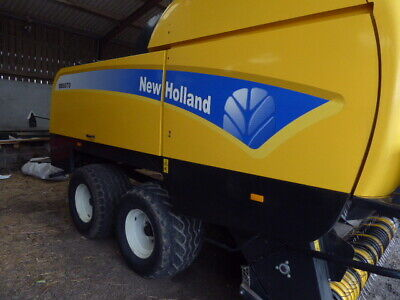 £37500 • Buy New Holland 9070 120 X 70 Tandem Axle Baler Large Square
