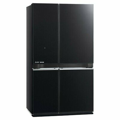 AU2586 • Buy NEW Mitsubishi Electric 650L French Door Fridge MR-L650EN-GBK-A2