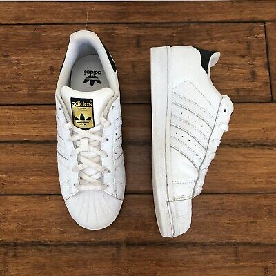 AU50 • Buy Adidas Unisex Superstar White Lace-Up Low-Top Sneakers - Size 38