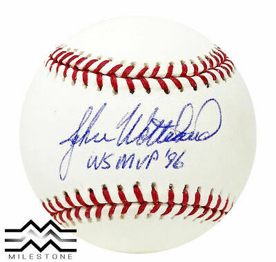 $ CDN72.59 • Buy New York Yankees John Wetteland Autographed Major League Game Baseball JSA Auth