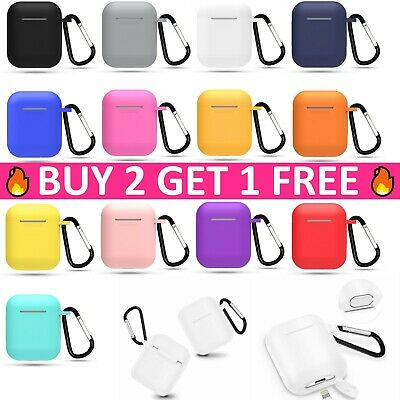 $ CDN6.78 • Buy AirPods Silicone Charging Case Cover Protective Skin For Apple Airpod 1 2nd Gen