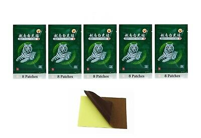 Tiger Plasters Pain Relief Patch Heat Balm Muscle Back/Leg Various Quantities   • 3.49£
