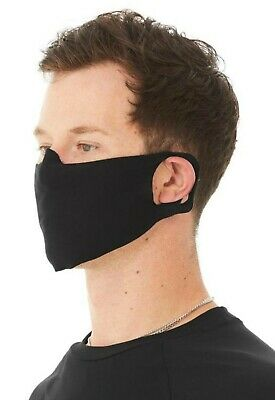 AU14.70 • Buy Unisex 4 Ply Cotton Jersey Face Covering/Masks. Washable,Durable Comfortable Fit