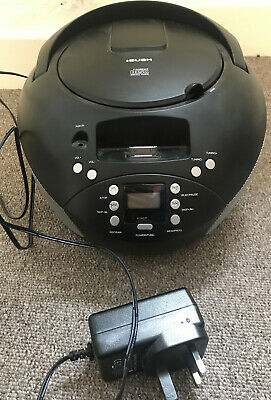 Bush Boombox Portable Radio, CD, Old Style Ipod Dock - Fully Working • 19.99£