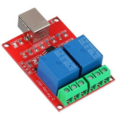 £5.29 • Buy 2-Channel 5V USB Switch Controller Relay Module Expansion Board For Computer PC