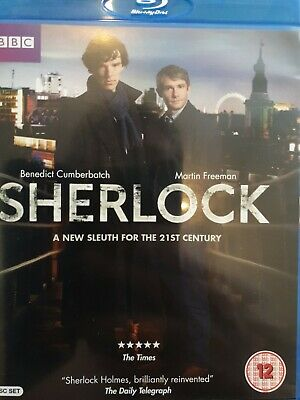 Sherlock Complete Series 1 New Blu-ray Set - 2 Discs • 1.30£