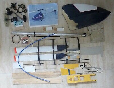 £75 • Buy ROTAIRE TYKE - RARE Vintage RC Helicopter. Some New Parts. Original Manual