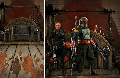 $ CDN90.46 • Buy Poster Bckdrop Shps Rolld~batman V Superman~stryker Isle For Hot Toys 1/6 Figure