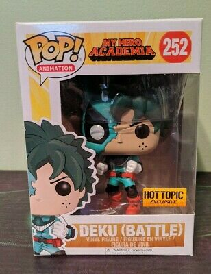 $24.99 • Buy Funko Pop Animation Exclusive My Hero Academia MHA Deku Battle Hot Topic HT
