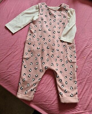 Baby Girls 3-6 Months Animal Print Outfit  • 10£