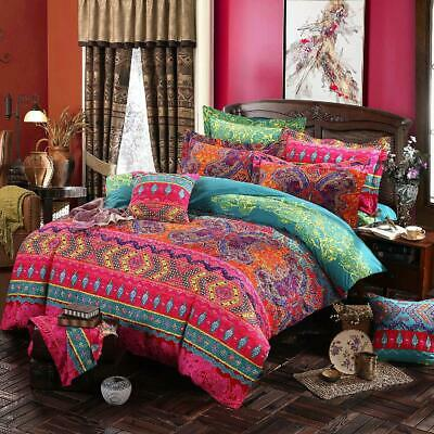 AU29 • Buy Single/KS/Double/Queen/King/Super King Soft Quilt/Duvet Cover Set-Mandala Love
