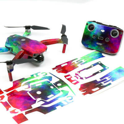 AU42.50 • Buy Rainbow Clouds Drone Skin Wrap Stickers Decal For DJI Mavic Air 2