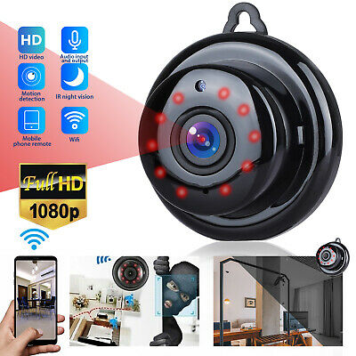 AU22.11 • Buy Mini IP WIFI 1080P Camera Camcorder Wireless Home Security DVR Night Vision