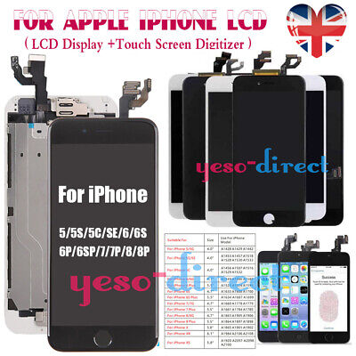 For IPhone5S 6 6S 7 8 Plus Screen Replacement LCD 3D Touch Digitizer Display UK • 21.99£