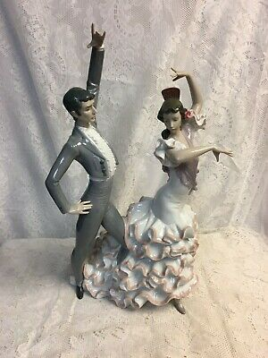 $550 • Buy Lladro  A Passionate Dance  17 1/2 Tall Figurine W/ Box 01006387 Repaired Hand