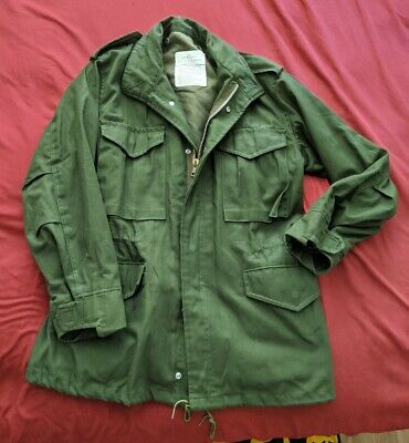 $ CDN61.74 • Buy E8670 New US ARMY M-65 Cold Weather Field Coat Military Jacket Small Regular