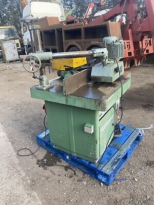 Wadkin BEM Bursgreen Spindle Moulder. With Powerfeed Unit And Manual Brake Used • 2,295£