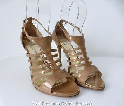 AU87.96 • Buy BIANCA BUCCHERI Women's Shoes Size 40 Made In Italy High Heel Leather Sandals