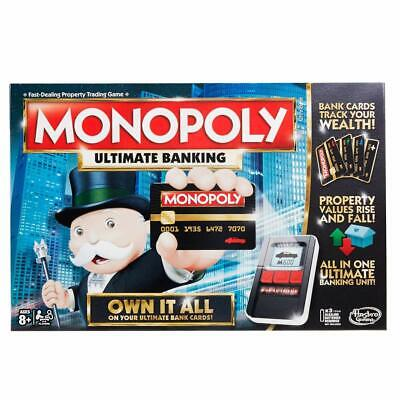 $65.99 • Buy Monopoly Game: Ultimate Banking Edition Board Game, Electronic Banking Unit, Gam