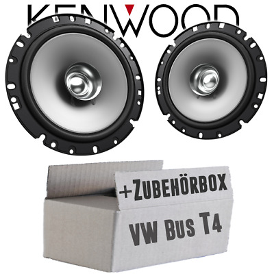 Kenwood Speakers For VW Bus T4 Front 16cm Coax Car Accessories Installation Kit • 35.47£