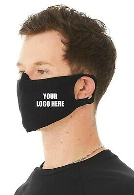 AU18.38 • Buy Customised With Your Logo 4 Ply Reusable, Washable Face Mask / Face Covering