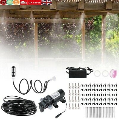 £42.49 • Buy 100ft 12V Micro Drip Irrigation System Set Automatic Watering Garden Hose Pump