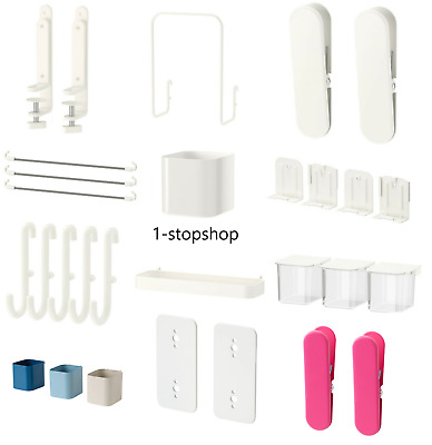 £9.99 • Buy Ikea SKADIS Pegboards & Accessories For Home School Kitchen Office Organizer NEW