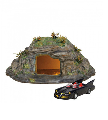 SALE NEW Gotham City Batman The Bat Cave Set Of 2 Figures Department 56 • 99.50£