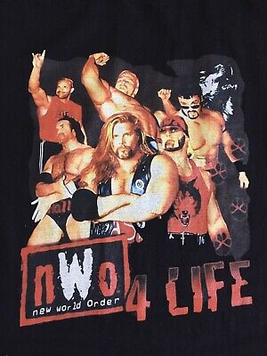 $ CDN30.08 • Buy NWO T Shirt Size XL Gildan Softstyle 90s WCW WWE Hollywood Hogan Wolfpac