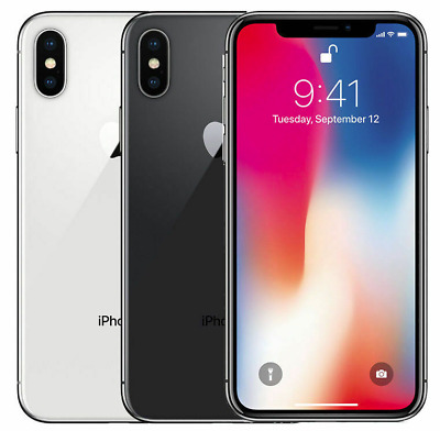 $449.99 • Buy Apple IPhone X 64GB 256GB Factory Unlocked Or AT&T, Sprint, T-Mobile, Verizon