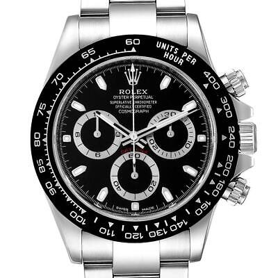 $ CDN32557.63 • Buy Rolex Cosmograph Daytona Ceramic Bezel Black Dial Mens Watch 116500