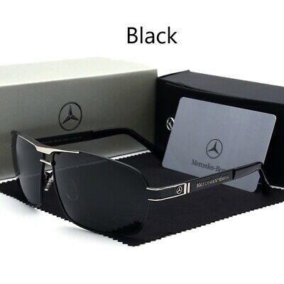 Mercedes Benz Sunglasses With Mercedes Box Men Women Polarized Driving UV400  B • 18.02£