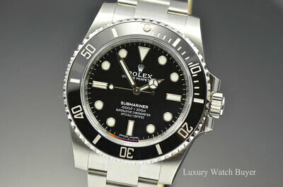 $ CDN13721.86 • Buy 2020 NEW Rolex No Date Ceramic Submariner Black Dial SS Automatic 114060