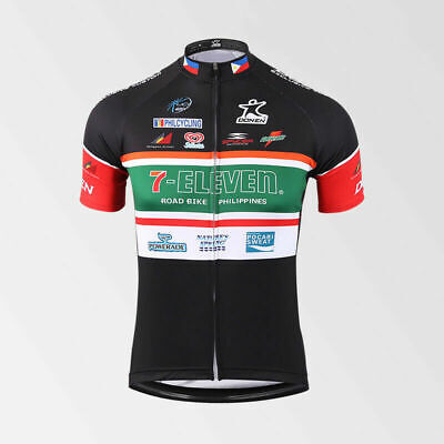 AU25.43 • Buy 7-Eleven Cycling Jersey MTB Cycling Jersey  Short Sleeve