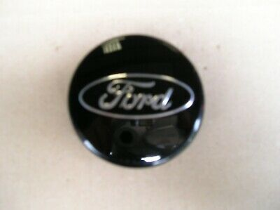 Ford FOCUS /Fiesta NEW,Wheel C/CAP 54.5 Dia Black With Silver Logo,Genuine Part • 9.85£
