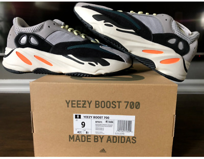 $ CDN700.48 • Buy NEW Adidas Yeezy Boost 700 Wave Runner Size 9 100% Authentic Kith 350
