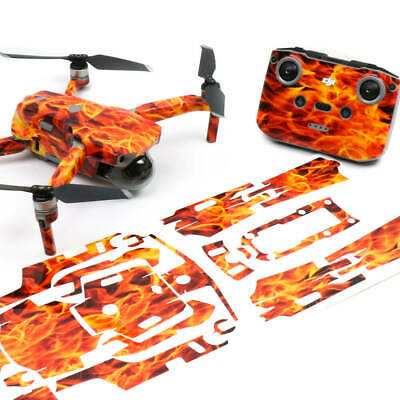 AU42.50 • Buy Fire N Flames Drone Skin Wrap Stickers Decal For DJI Mavic Air 2