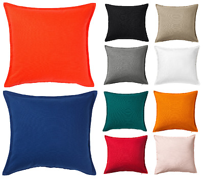 IKEA Cushion Cover  GURLI  50x50cm 100% Cotton New 18 COLORS AVAILABLE FAST POST • 4.99£