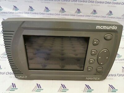 Mcmurdo NAV-7 Colour GMDSS  Navtex Receiver (For Parts Only) • 214.58£