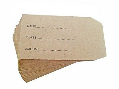 Small Brown Envelopes For Dinner Money Wages Coin Beads & Seeds • 2.29£