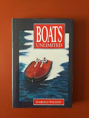 £29.99 • Buy Boats Unlimited Book By Harold Wilson With Signed Message By Harold Wilson