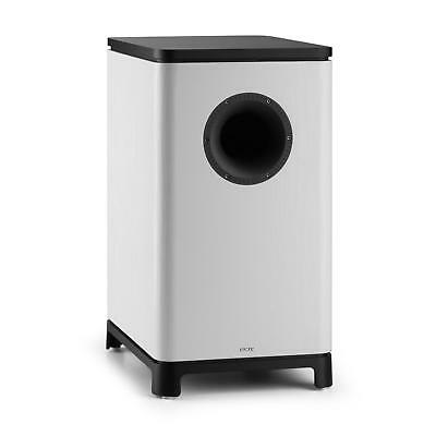 [B-Stock] WHITE 10  ACTIVE SUBWOOFER MUSIC SYSTEM HIFI AUDIO HOME DJ PARTY SILLI • 188.99£