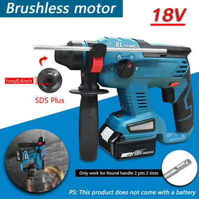 View Details For Makita DHR242 18V Cordless SDS Plus Rotary Hammer Drill 4 Modes Body Only • 89.99£