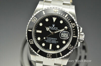 $ CDN13721.86 • Buy 2015 Rolex Ceramic Date Submariner Stainless Steel Automatic Watch 116610