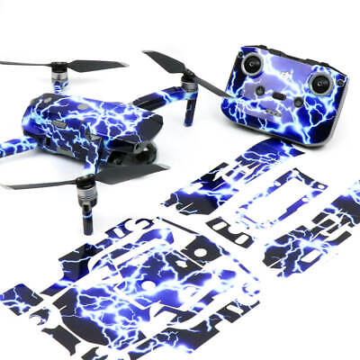 AU42.50 • Buy Lightning Drone Skin Wrap Stickers Decal For DJI Mavic Air 2
