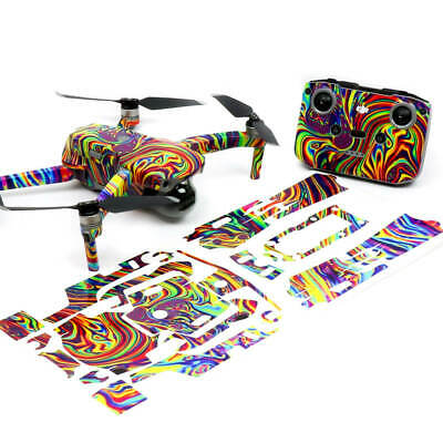 AU42.50 • Buy Psychedelic Drone Skin Wrap Stickers Decal For DJI Mavic Air 2