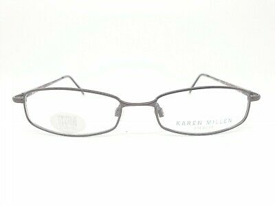 Karen Millen 06 25136771 Gunmetal Grey Womens Glasses Frames RRP £129+ • 34.99£