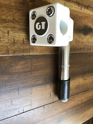 OLD SCHOOL BMX White REPOP GT Performer Pro Freestyle Mallet Stem Quill Adapter